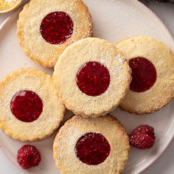 Jam Thumb Biscuits