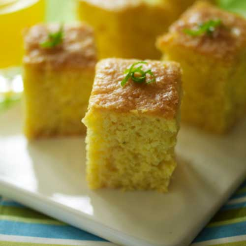 Lime and Coconut Tray Bake