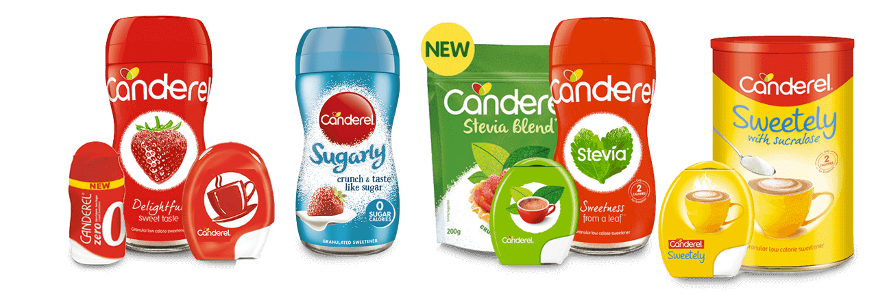 canderel product range